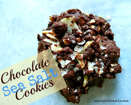 Chocolate Sea Salt Cookies