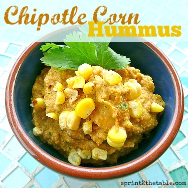 Chipotle Corn Hummus