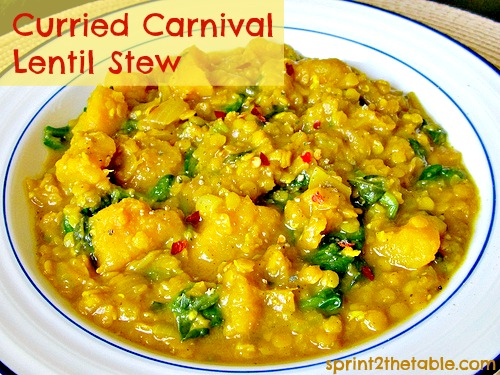 Curried Carnival Lentil Stew