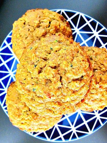 pumpkin-zucchini-muffin