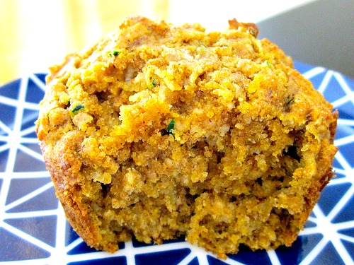 Pumpkin Zucchini Muffins | Sprint 2 the Table