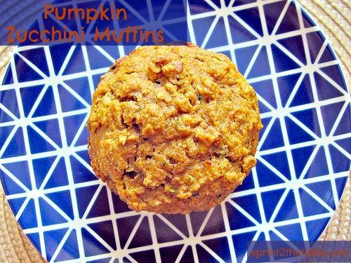 zucchini pumpkin muffin