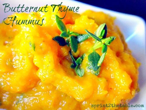 Butternut Thyme Hummus