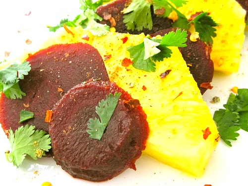 Pineapple and Beet Salad