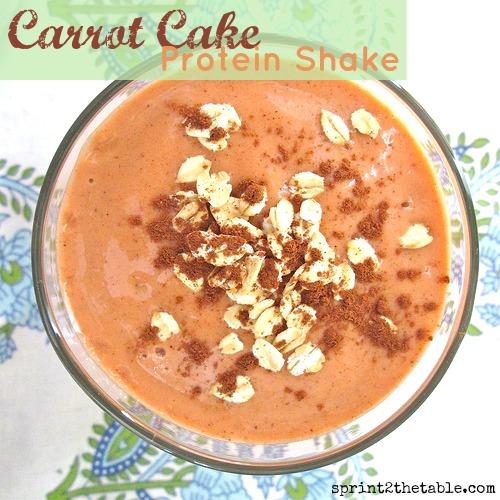 Carrot Cake Batter Shake