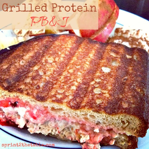 Grilled Protein PBJ