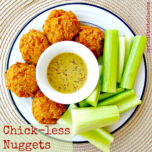 Vegan TVP Chick-less Nuggets