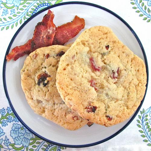 Maple-Bacon Pancake Cookies