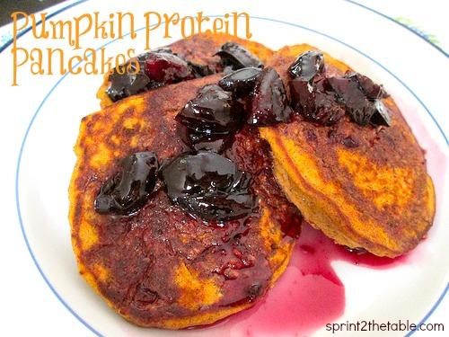 Pumpkin Protein Panacakes