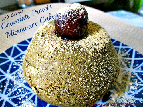 Chocolate-Microwave-Protein-Muffin
