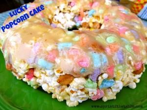Lucky Popcorn Cake