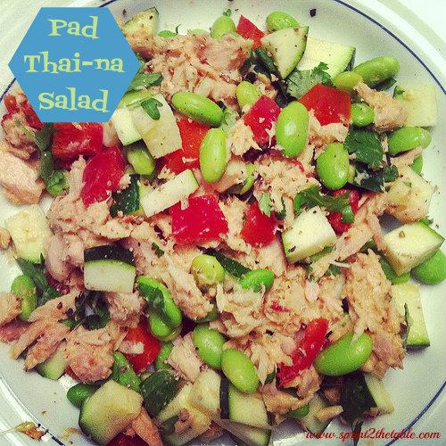 Pad Thi-na Salad