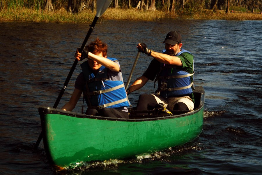 Pangea Adventure Race canoeing
