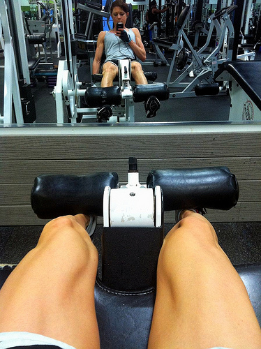 Leg Extensions seated