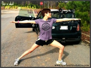 Post-Run Yoga #FitFluential