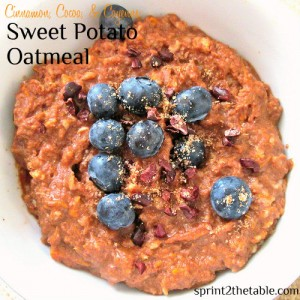Sweet Potato CCC Oatmeal