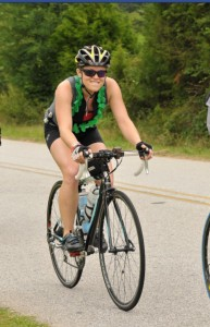 Ride your bike 100 miles wearing a lei