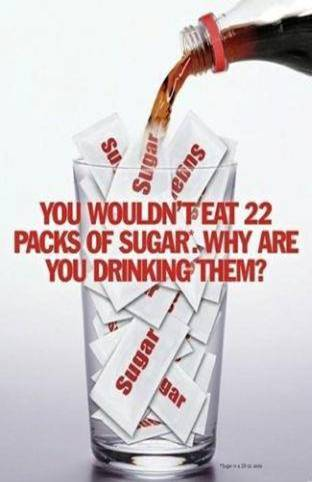 Sugars in soda