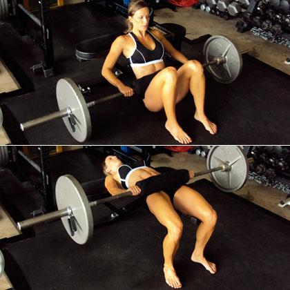 Barbell Hip Lifts