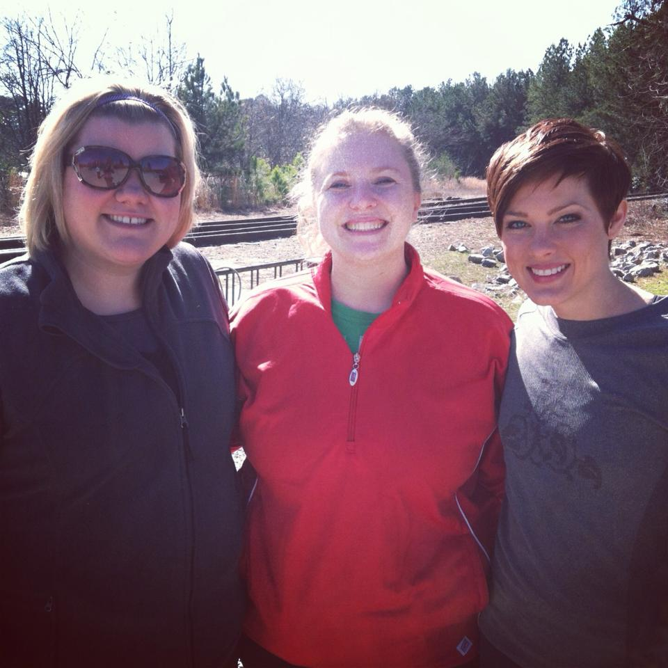 Jessica, Kathleen, and me