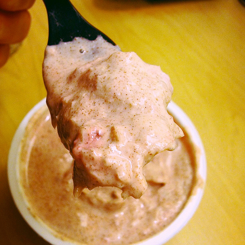 Strawberry Cinnamon Fro Yo