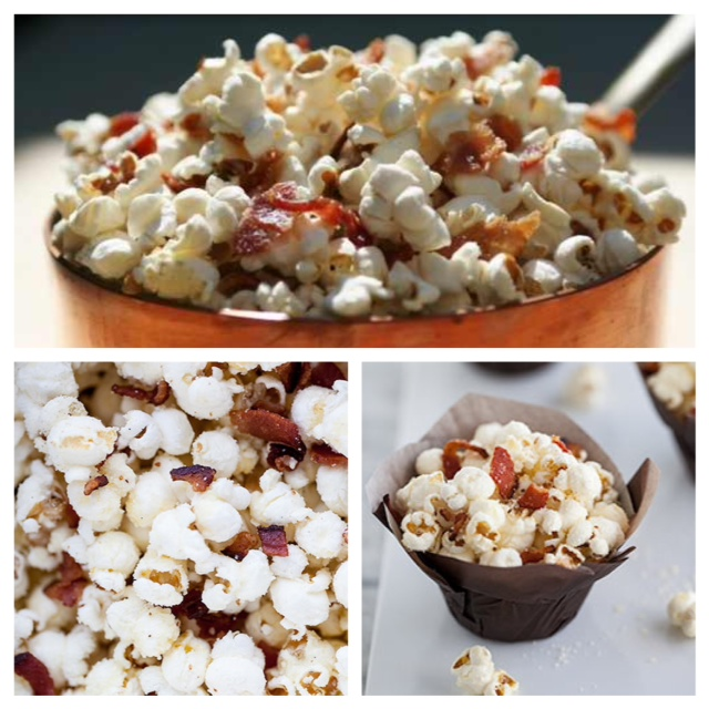 MY Bacon Popcorn = Amazing