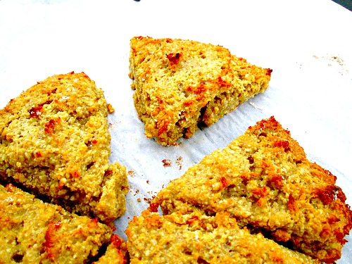 Blood Orange Avocado Scones 1
