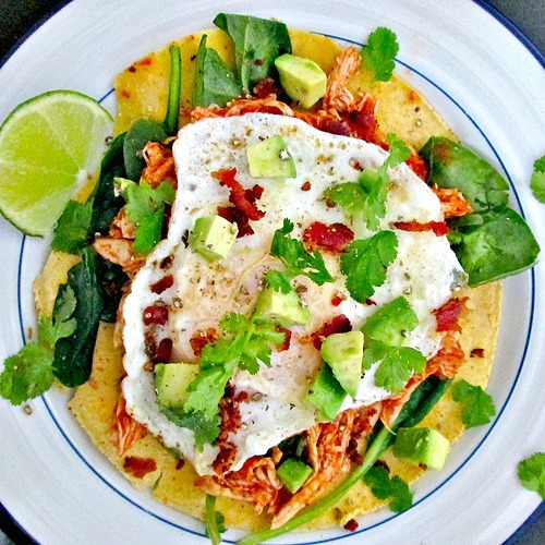 Mexican Breakfast Tortilla