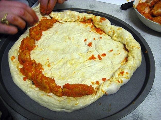 buffalo wing crust