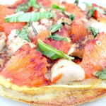 Griddled Chicken and Grapefruit Pizza