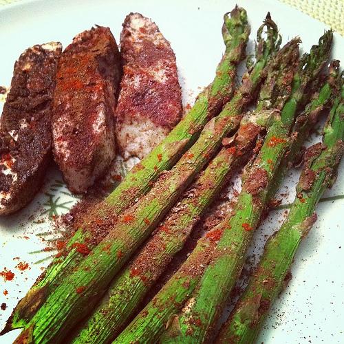 cinnamon asparagus