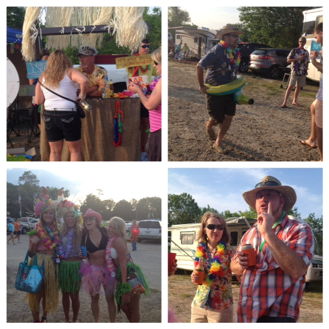 Fearless friends at the impromptu Jimmy Buffet Concert AND got free tix
