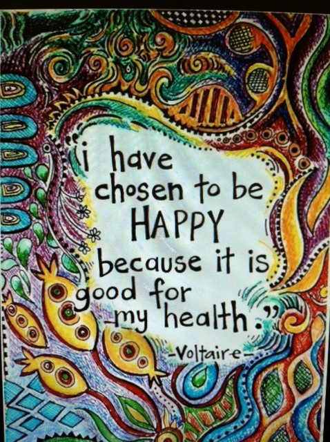 Choose Happy - Voltaire