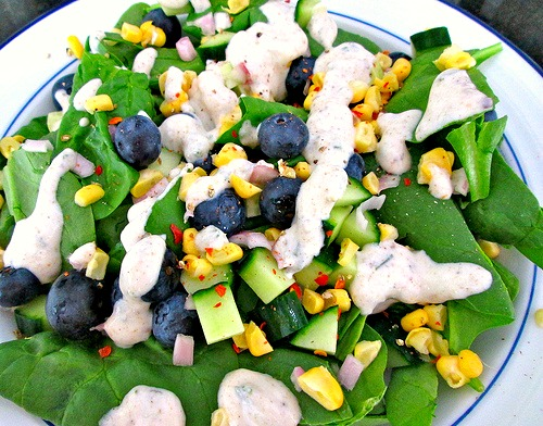 Berry Corny Salad 1