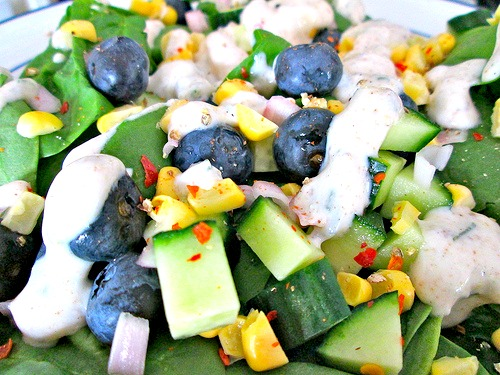 Berry Corny Salad 2