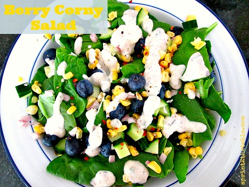 Berry Corny Salad