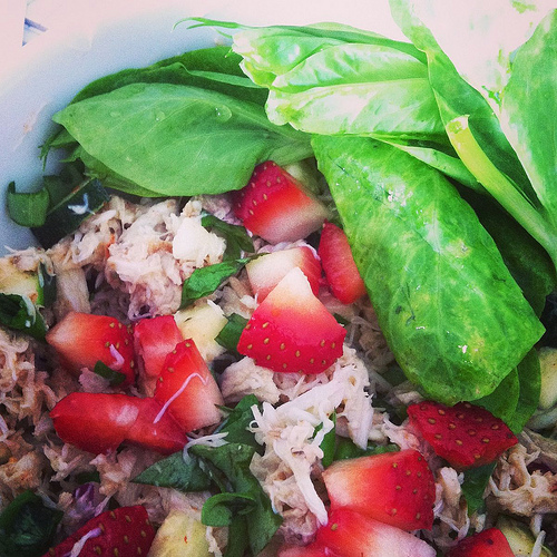 Strawberry Crab Salad