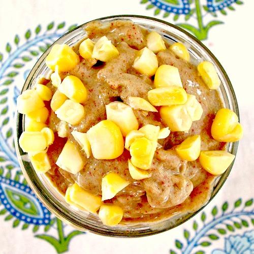 Sweet Corn Protein Shake 1