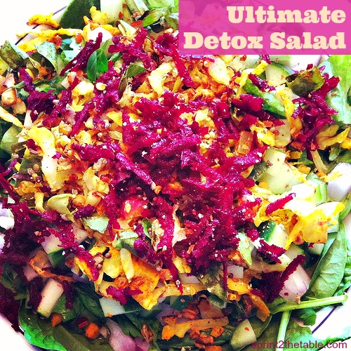 Ultimate Detox Salad