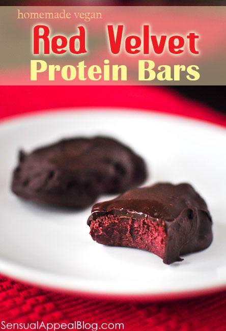 Red Velvet Protein Bars