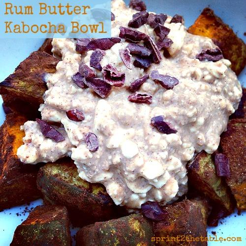 Rum Butter Kabocha Bowl