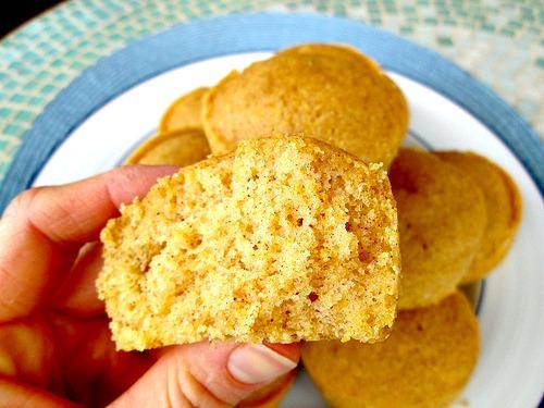 Sweet Jalapeno Cornbread Muffin bite