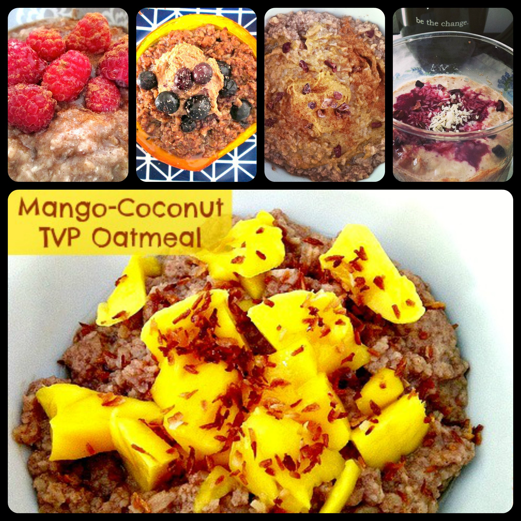 TVP Oatmeal Collage