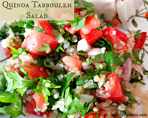 Quinoa Tabbouleh Salad - Sprint 2 the Table