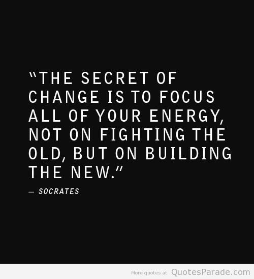secret of change