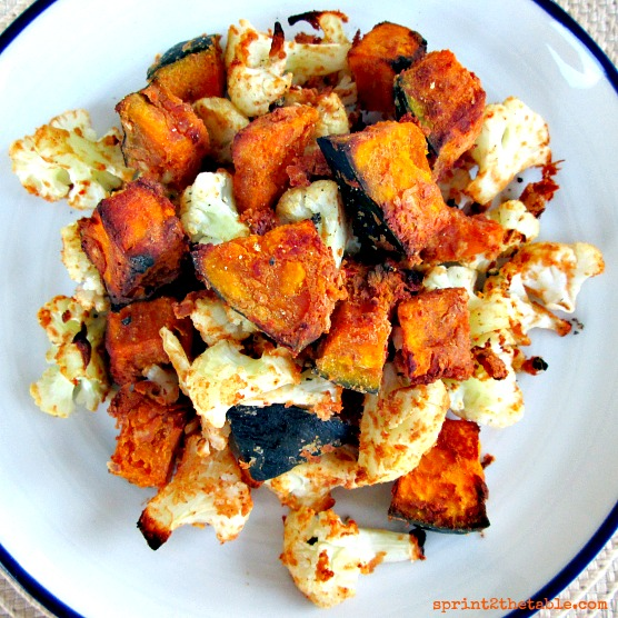 Thai Peanut Kabocha and Cauliflower 004