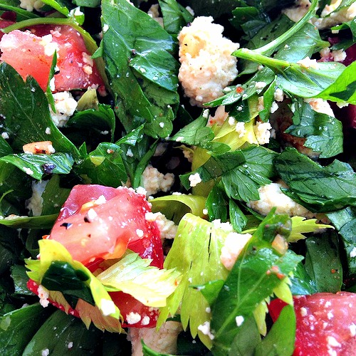 Tofu Tabbouleh Salad recipe