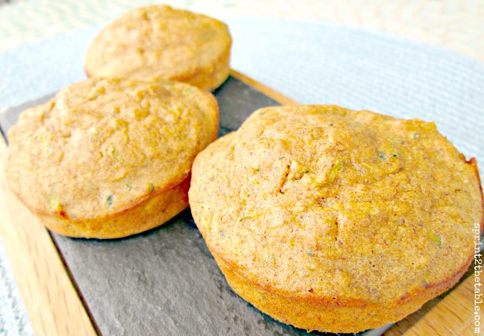 Plantain Zucchini Muffins