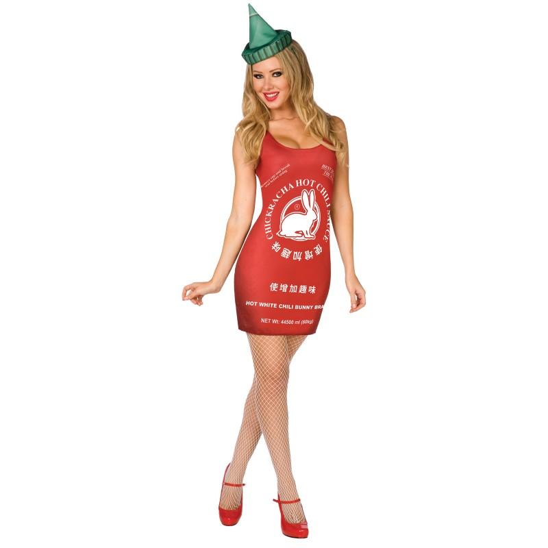sexy sriracha costume
