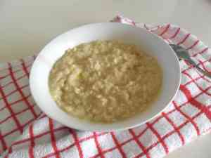 Lemon Shortbread Oatmeal